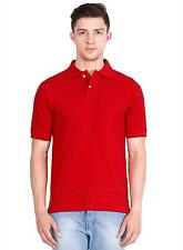 Basil Men's Polo T-Shirt Red