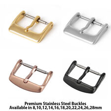 Watch Strap Buckles Watch Buckle Spare Silver Gold Rose Gold Black Watch Buckle