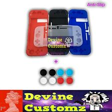 Anti-slip Silicon case and Analog Thumbstick Grips Nintendo Switch Console