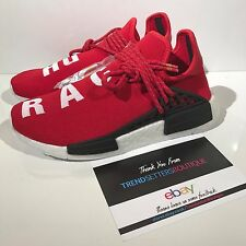 ADIDAS NMD HUMAN RACE RED SCARLET US UK 6 6.5 7 39 40 PHARRELL BB0616 HU OG DS