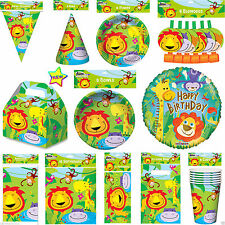 New Animal Lion Jungle Birthday Party Pack Jungle party Table Ware