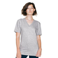 Ladies/ Unisex American Apparel Fine Jersey short sleeve v-neck (2456) - AA049