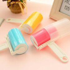 Reusable Sticky Buddy Carpet Clothes Lint Fur Remover Cleaner Roller Brush