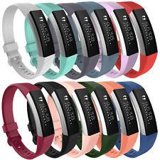 Sport Silicone Replacement Wrist Band Strap For Fitbit Alta HR Watch Small/Large