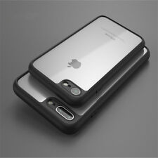 New Shockproof Gel Transparent Bumper Looking Back Case Cover Pouch -Black