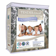 4FT 3/4 SMALL DOUBLE PROTECT A BED TENDER TOUCH TENCIL MATTRESS PROTECTOR