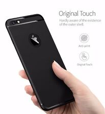 360 Degree Ultra-Thin Matte Soft TPU Silicone LINE Back For Apple iPhone 6/6S