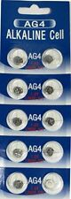 AG4 1.5V LR626 377 SR626  BUTTON / COIN CELL WATCH BATTERIES