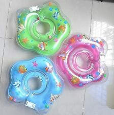 Infant Baby Swimming Neck Float Rubber Ring Inflatable Infant Neck Swimtrainer