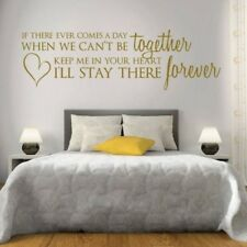 If There Ever Comes a Day Wall Sticker