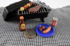 Re-ment Meal BBQ Set Miniature Food New Dollhouse Accessories Grill 1/6 Scale