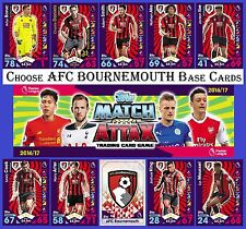Choose MATCH ATTAX 2016 2017 Topps 16/17 BOURNEMOUTH Base Cards