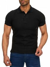 Polo Col Tee-Shirt Polo Simple Homme Manches Courtes