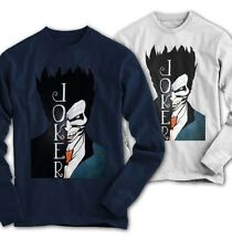 Maniche Lunghe Uomo Joker Comics Batman Film Movie Nuovo S 3XL HK1115LS