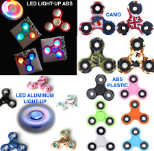 TRI FIDGET SPINNER EDC finger hand desk gyro spin toy stress relief focus ADHD