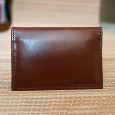 Real Leather Bifold ID Credit Card Wallet Slim Pocket Case Holder Leather Wallet