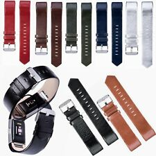 Genuine Leather Watch Strap Bracelet Wrist Band For Fitbit Charge 2 HR Tracker