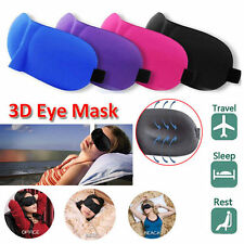 3D Soft Padded Design Eye Sleep Aid Mask Shade Cover Blindfold For Rest Travel