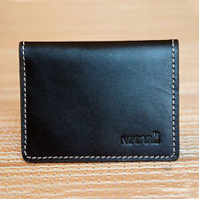 Real Leather Bifold ID Credit Card Wallet Slim Pocket Case Holder UK Seller