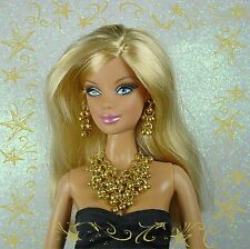 BARBIE FASHION ROYALTY SILKSTONE BIJOUX JEWERLY MIYUKI PEARL