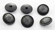 6 bottoni in metallo scatolati - DECORATI - decorative buttons