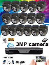 TMB 16 Channel DVR 1080P HD 3MP Home Security CCTV Camera System Kit Outdoor IR
