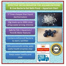 Evolution Aqua Live Bacteria Gel Balls & Tap Water Dechlorinator Starter Kit