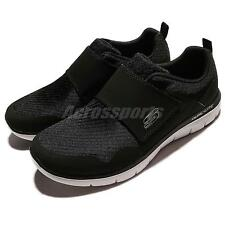 Skechers Flex Advantage 2.0 Gurn Dual-Lite Black White Men Training 52183-BKW