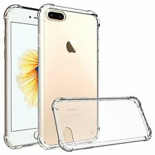 Shockproof 360° Silicone Protective Clear Case Cover For Apple iPhone 7 / 7 PLUS