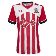 Southampton FC Childrens Football Shirt Under Armour Boys Red White Home 2016-17