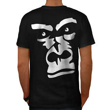 Gorilla Animal Monkey Men T-shirt Back S-5XL NEW | Wellcoda