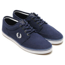 Fred Perry Stratford Canvas Trainers  Plimsolls Casual Shoes B8284-865