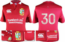 2017 - CANTERBURY / BRITISH AND IRISH LIONS RED PRO JERSEY / NUMBERED 30 = SIZE*