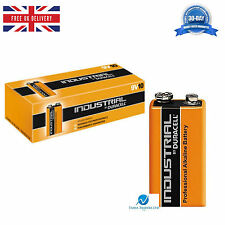 Duracell Industrial 9V PP3 MN1604 Block Professional High Performance Batteries