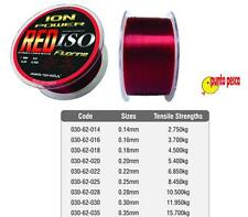 FILO DA PESCA  AWA-SHIMA ION POWER RED ISO FLUORINE MT. 300 SURFCASTING