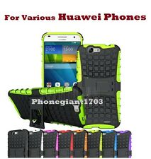 Huawei P8 Lite(2017) Shock Proof Heavy Duty Armour Hybrid Back Case Cover