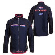 GAS HONDA REPSOL MENS HRC MERC NAVY JACKET MOTO GP SIZES M & L ONLY