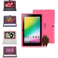 iRULU 7 Zoll Tablet PC 16GB Android 4.4 WLAN Dual Kamera 1.5GHz Pink + Keyboard