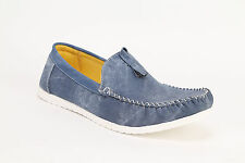 Quarks Men's Stylish Casual Loafer Shoes - Blue  Color - Q1010BL