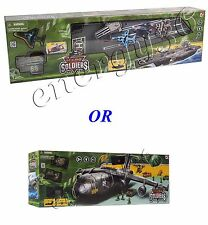 Game set CHAP MEI NANO-ARMYA. Aircraft carrier with filling/ Transport aircraft