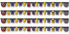 Marvel Spider-Man Homecoming Movie 2m Happy Birthday Party Banner | Banner 1-5pk