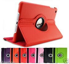360 Degree Rotating Leather Stand Case Cover for Apple iPad (5th Generation)2017