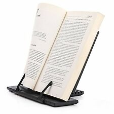 Adjustable Portable Book Document Steel Stand Reading Desk Holder Bookstand Gift