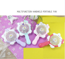 PORTABLE POCKET MINI FAN COOL AIR HAND HELD TRAVEL BLOWER COOLER HOME OFFICE