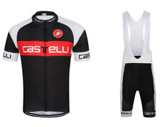 Team Castelli Cycling Jersey and Bib Shorts Set (UK SELLER)