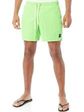 Protest Neon Green Fast Swimming Shorts
