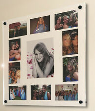 """Plexiglas acrylic perspex multi wall gloss picture photo frame for 10x8""""& 6x4"""""""