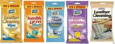 CARPET & UPHOLSTERY,TUMBLE DRYER,STAIN REMOVER,LEATHER CLEANING WIPES & SHEET