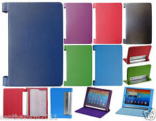 LENOVO YOGA 10 B8000 PREMIUM LEATHER FLIP CASE COVER WITH MAGNET LOCK | 6 COLOR