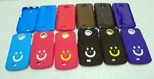 for micromax canvas engage a091 a 091 soft case back glossy cover / smiley cover